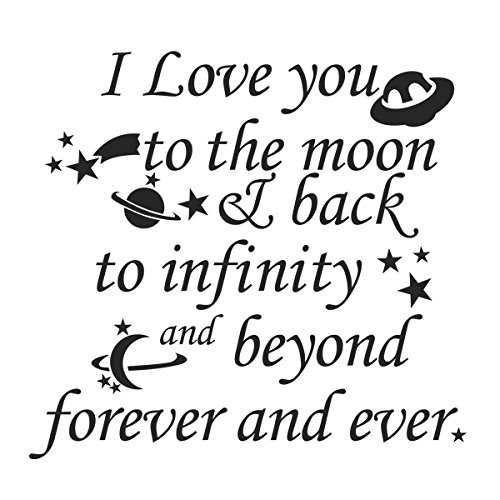 I Love You To The Moon And Back To Infinity And Beyond