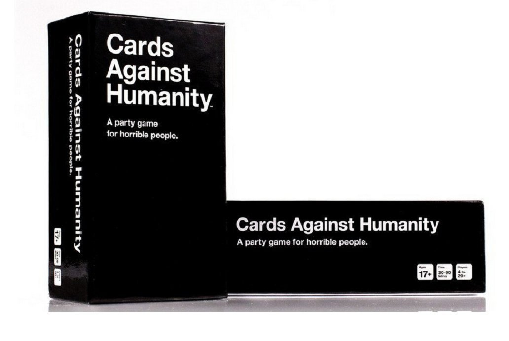 Cards Against Humanity https://amzn.to/2BZI1UN