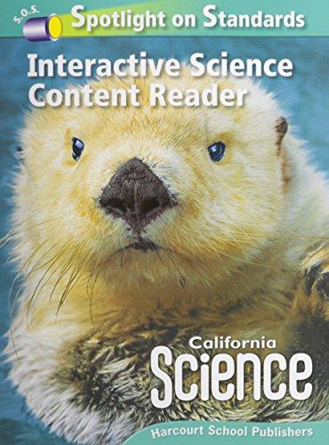 California Science Interactive Science Content Reader