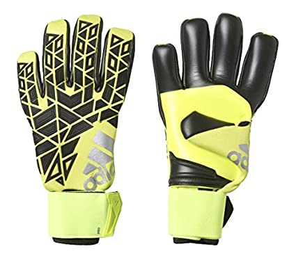 Amazon.com   adidas Ace Pro Soccer Goalkeeper Gloves 12 Solar Yellow ... 3222e3868