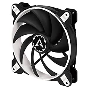 ARCTIC BioniX F140-140 mm Gaming Case Fan with PWM PST   Cooling Fan with PST-Port (PWM Sharing Technology)   Regulates RPM in sync - White