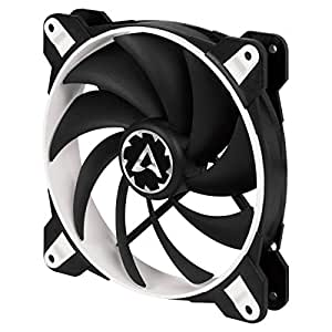 ARCTIC BioniX F140-140 mm Gaming Case Fan with PWM PST | Cooling Fan with PST-Port (PWM Sharing Technology) | Regulates RPM in sync - White