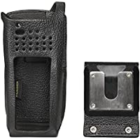 Motorola Solutions PMLN6085A Apx2000/4000 1-Knob, Swivel, Leather case