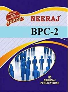 Buy neeraj ignou bsc bphe 102 / phe-2 guide book & help book.