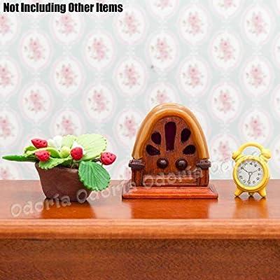 Odoria 1:12 Miniature Vintage Antique Radio Dollhouse Decoration Accessories: Toys & Games