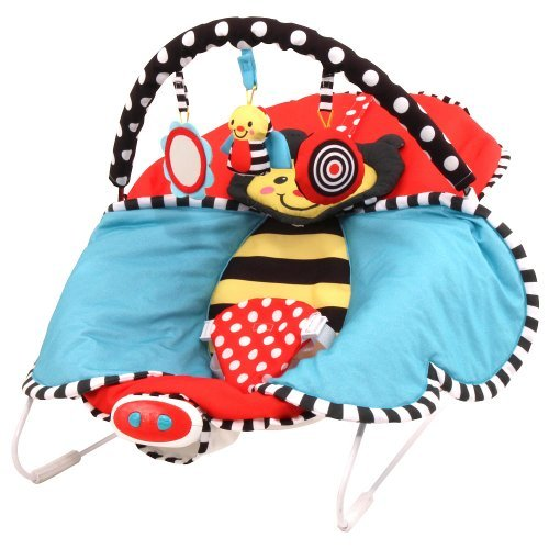 Sassy Cuddle Bug Bouncer (Red) by Sassy