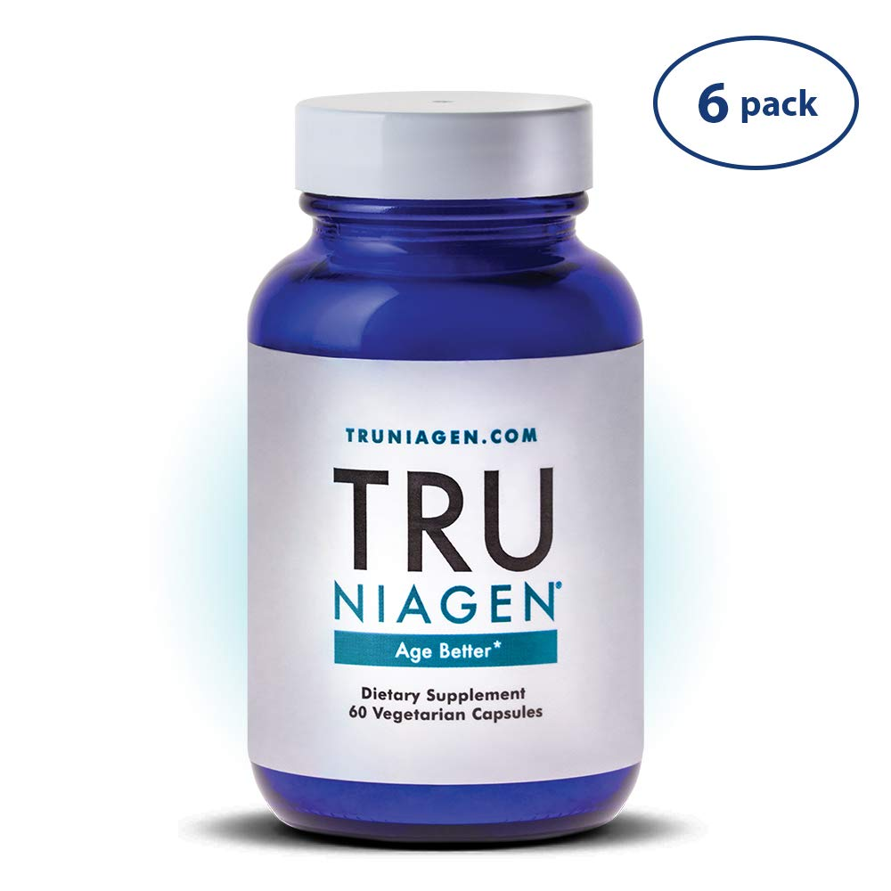 TRU NIAGEN® (Nicotinamide Riboside) | Increased 300 mg/Serving (2 Vegan Capsules) | Advanced NAD+ Booster for Next-Level Cellular Repair & Increased Energy | Vitamin B3 (NR)