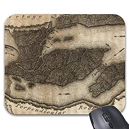 Great Falls Of Columbia River Mouse Pad Non Slip Rubber Base For Home Office
