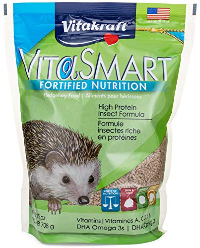 Vitakraft VitaSmart Fortified Nutrition Hedgehog Food, 25 - Recoverite Strawberry