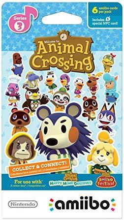Nintendo Animal Crossing amiibo cards Series 3 (6-Pack) - Nintendo ...