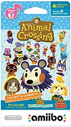Nintendo Animal Crossing amiibo cards Series 3 (6-Pack) - Nintendo Wii U by Nintendo: Amazon.es: Videojuegos