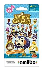 Animal Crossing Amiibo Crds 6pk S3