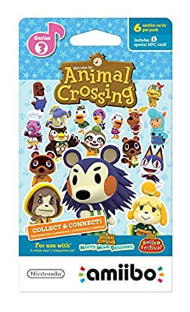 photo relating to Printable Amiibo Cards referred to as Animal Crossing amiibo Playing cards - Collection 3 - Wii U: Wii U