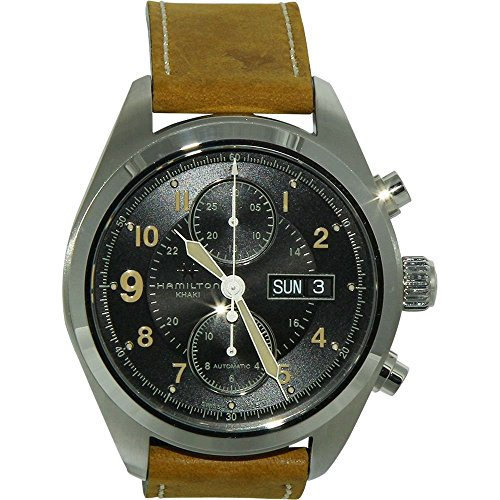 Hamilton Brown Leather Automatic Stainless Steel Case Mens Watch H71616535