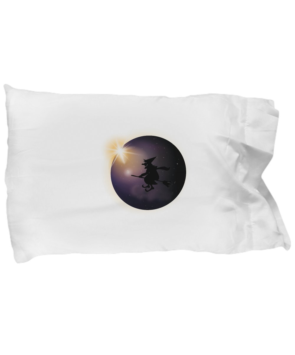 Pillow Covers Design Total Solar Eclipse August 2017 Witch Halloween Gift Pillow Cover Ideas