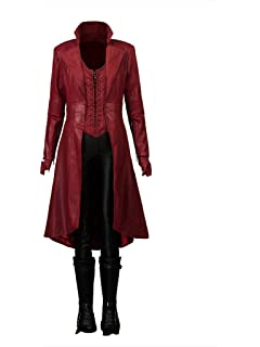 Amazon Com Cg Costume Women S Scarlet Witch Cosplay Costume Clothing