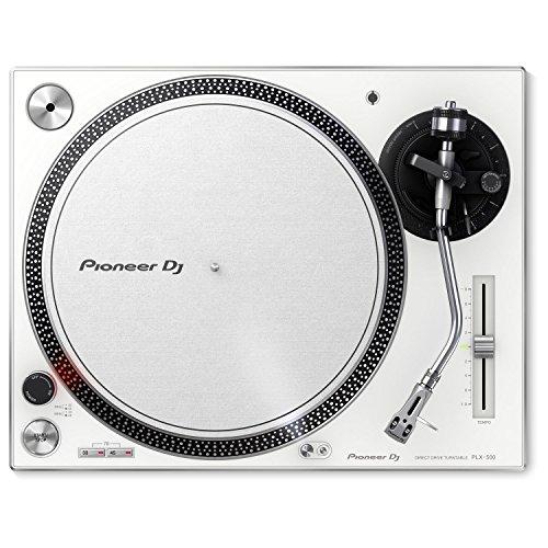 Pioneer PLX-500-W Direct Drive DJ Turntable Pair