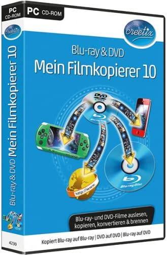 bhv Blu-ray & DVD Mein Filmkopierer 10 - Software de video (Alemán ...