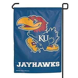 Kansas Jayhawks jardín pancarta (11in. x 15en.)