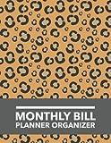 Monthly Bill Planner Organizer: Leopard Design