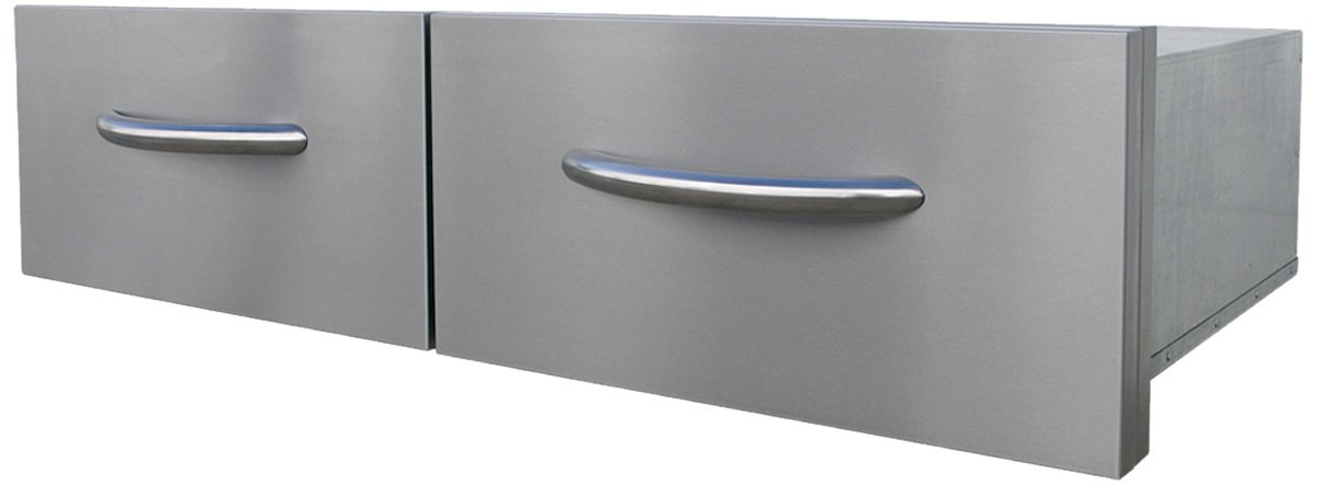 CalFlame BBQ08867-A 2 Drawer Horizontal