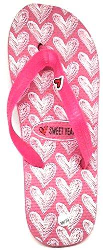 Sweet Years Chanclas Zapatillas De Baño Mujer Mod. 0042 Fuxia
