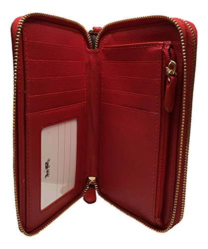 Coach-Varsity-Stripe-Double-Zipper-Phone-Wallet-Wristlet-F54005