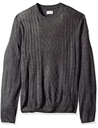 Men's Soft Acrylic Crewneck Sweater
