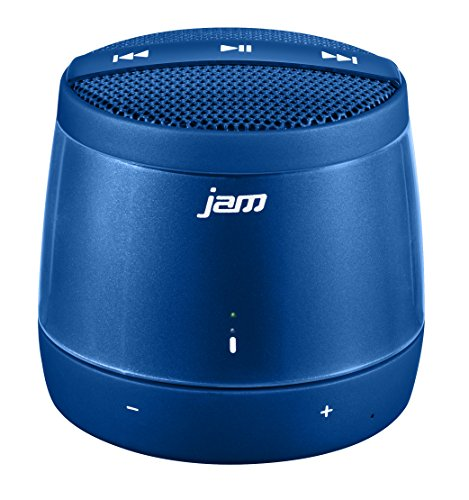 JAM Touch Wireless Portable Bluetooth Speaker, Built In Speaker, Voice Prompts, Capacitive Touch Controls on Speaker, Perfect for Dinner Parties, Outdoor BBQ, Rechargeable Battery, HX-P550BL