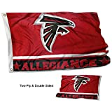 Cheap WinCraft Atlanta Falcons Double Sided Allegiance Flag
