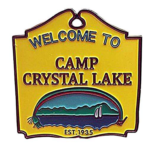 New Horizons Production Friday The 13th Camp Crystal Lake Metal Enamel Pin