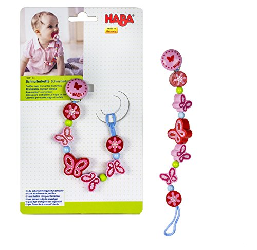 HABA Enchanted Butterflies Pacifier Germany
