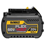 Best dewalt battery - DEWALT DCB606 20/60V MAX FLEXVOLT 6.0 Ah Battery Review