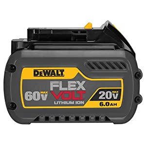 DEWALT DCB606-2 20/60V MAX FLEXVOLT 6.0 Ah Battery