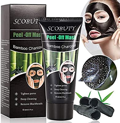 Charcoal Face Mask, Blackhead Mask, Peel Off Mask, Blackhead