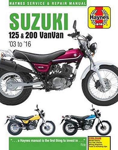 Suzuki RV125//200 Vanvan 03-16