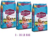 Purina Puppy Chow Tender and Crunchy Puppy Food (36 lb. Bag) (3 - 36 lb. Bag)