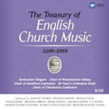 The Treasury of English Church Music