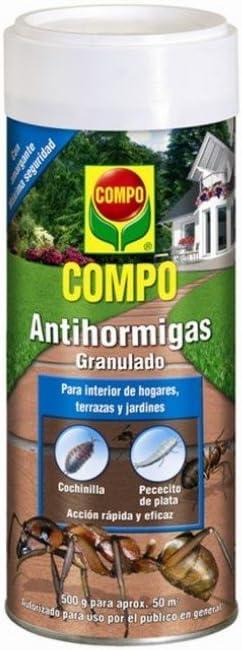 Compo Antihormigas, Formato granulado para espolvorear, 500 g