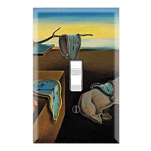 Graphics Wallplates - The Persistence of Memory by Salvador Dali - Single Toggle Wall Plate ()