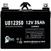 MK BATTERY MU1SLDG Battery - Replacement UB12350 Universal Sealed Lead Acid Battery (12V, 35Ah, 35000mAh, L1 Terminal, AGM, SLA)