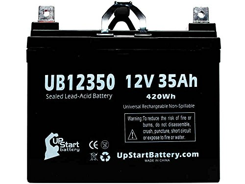 Kawasaki Teryx Battery - Replacement UB12350 Universal Sealed Lead Acid Battery (12V