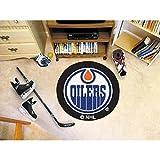 Fanmats Edmonton Oilers Puck Floor Mat