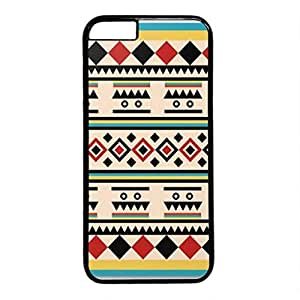 iCustomonline Tribal Pattern Designs Hard Case Cover for iPhone 6 Plus (5.5 inch) Black by runtopwell