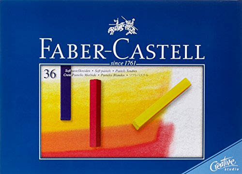 Faber-Castell Studio Quality 128336 Soft Pastel Crayons Set of 36 in Case