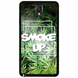 Best MYPHONE DESIGNS Buds Pots - Smoke Up Weed Leaves Background Plastic Phone Case Review
