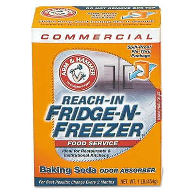 Fridge-n-Freezer Pack Baking Soda, Unscented, Powder, Sold as 1 Each