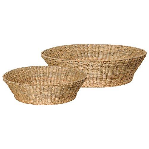 Emissary Home & Garden RND Bowl W S2 WRAP Water Hyacinth, 24