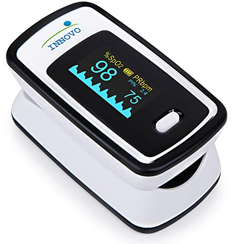 Innovo Deluxe Fingertip Pulse Oximeter with Plethysmograph and Perfusion Index (Digital Pulse Analyzer)
