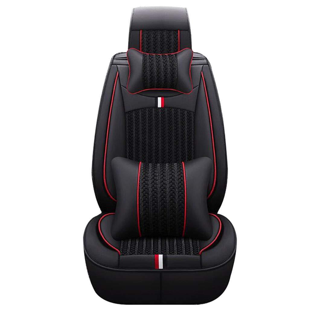 North cool Flax Leather, Popular, Jiedamaiteng, Summer Black Car Seat.
